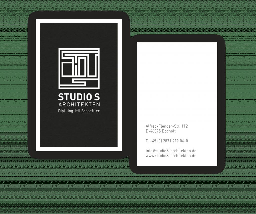 Portfolio StudioS VK BB 03 - Branding für das Studio S