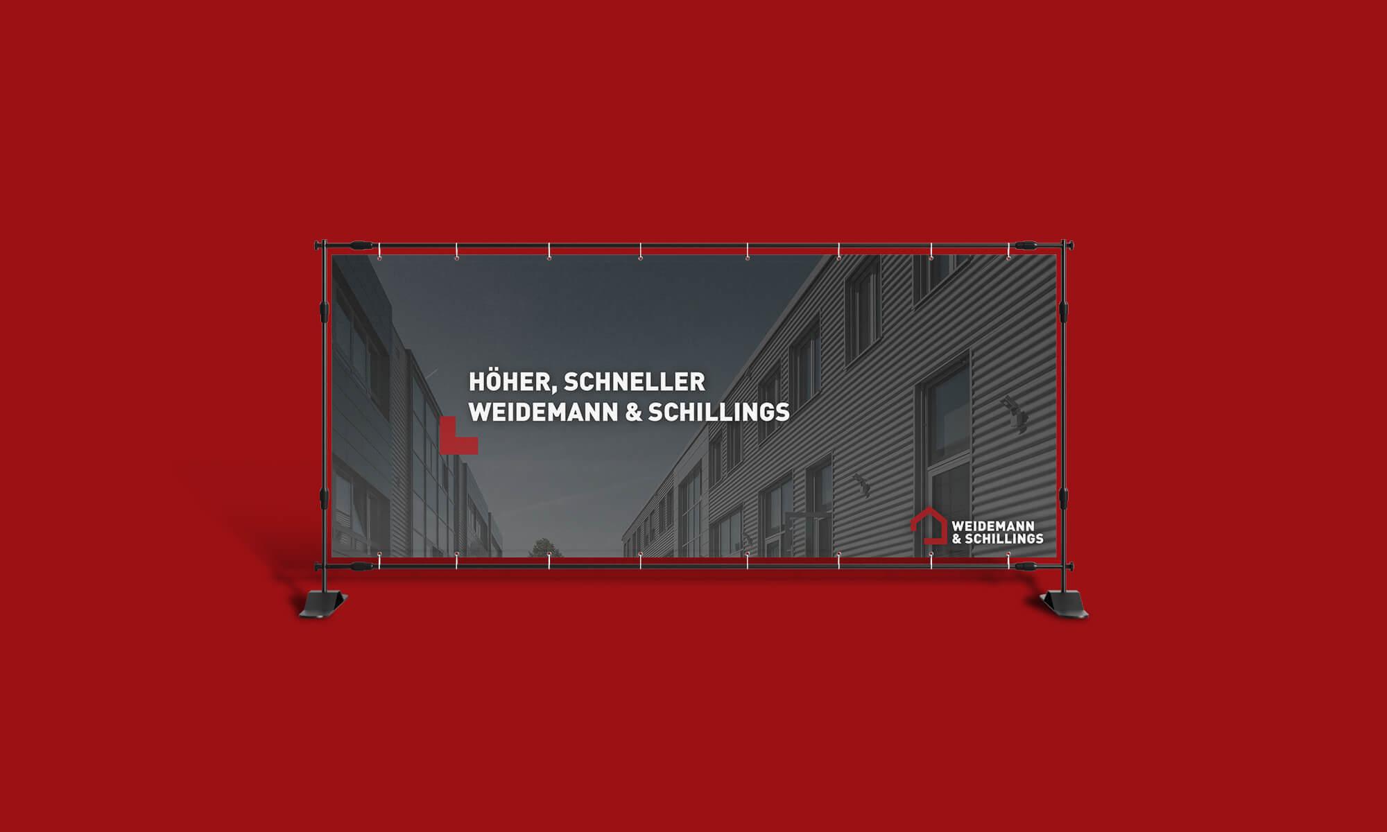 Konzept Weidemann Schillings - Rebranding für Weidemann & Schillings