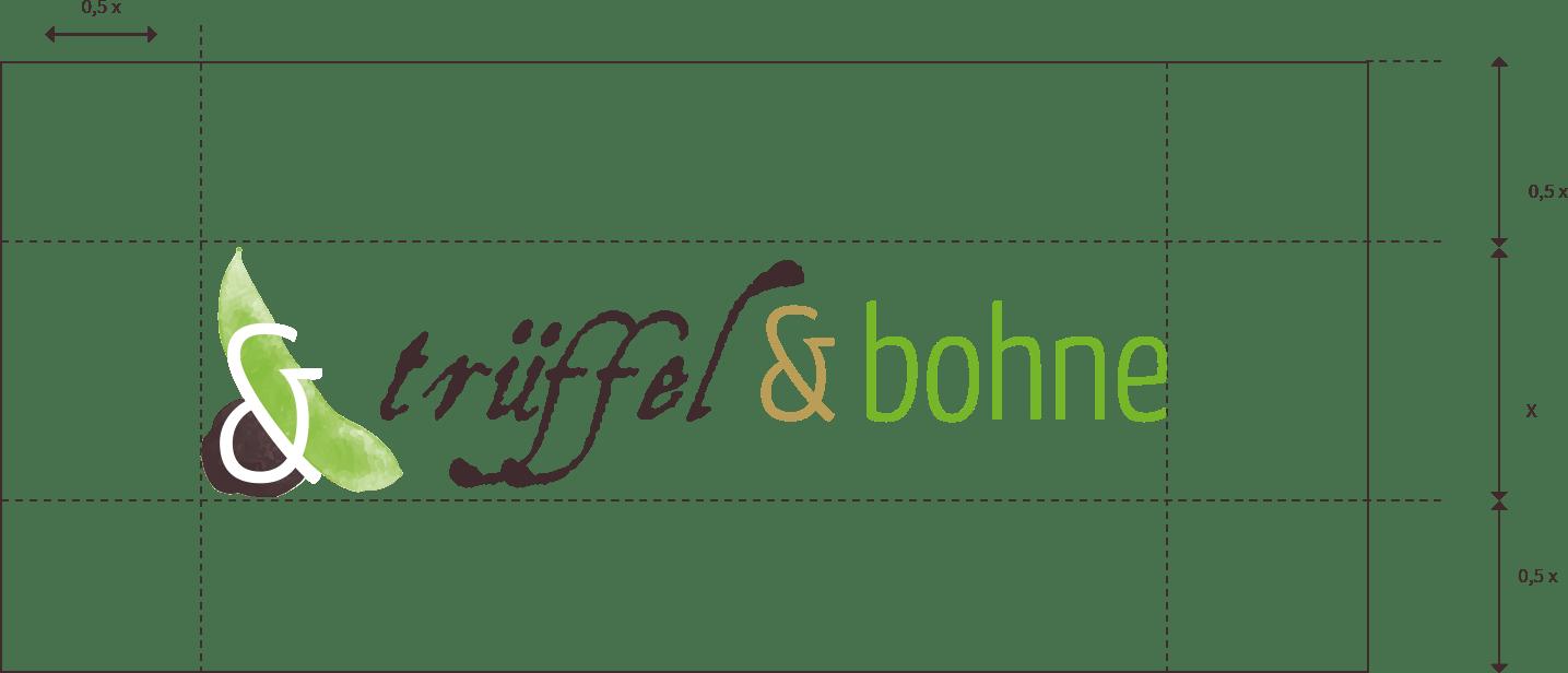 Schau und Horch Logoentwicklung Trueffel und Bohne 2 - Corporate Identity für Trüffel & Bohne