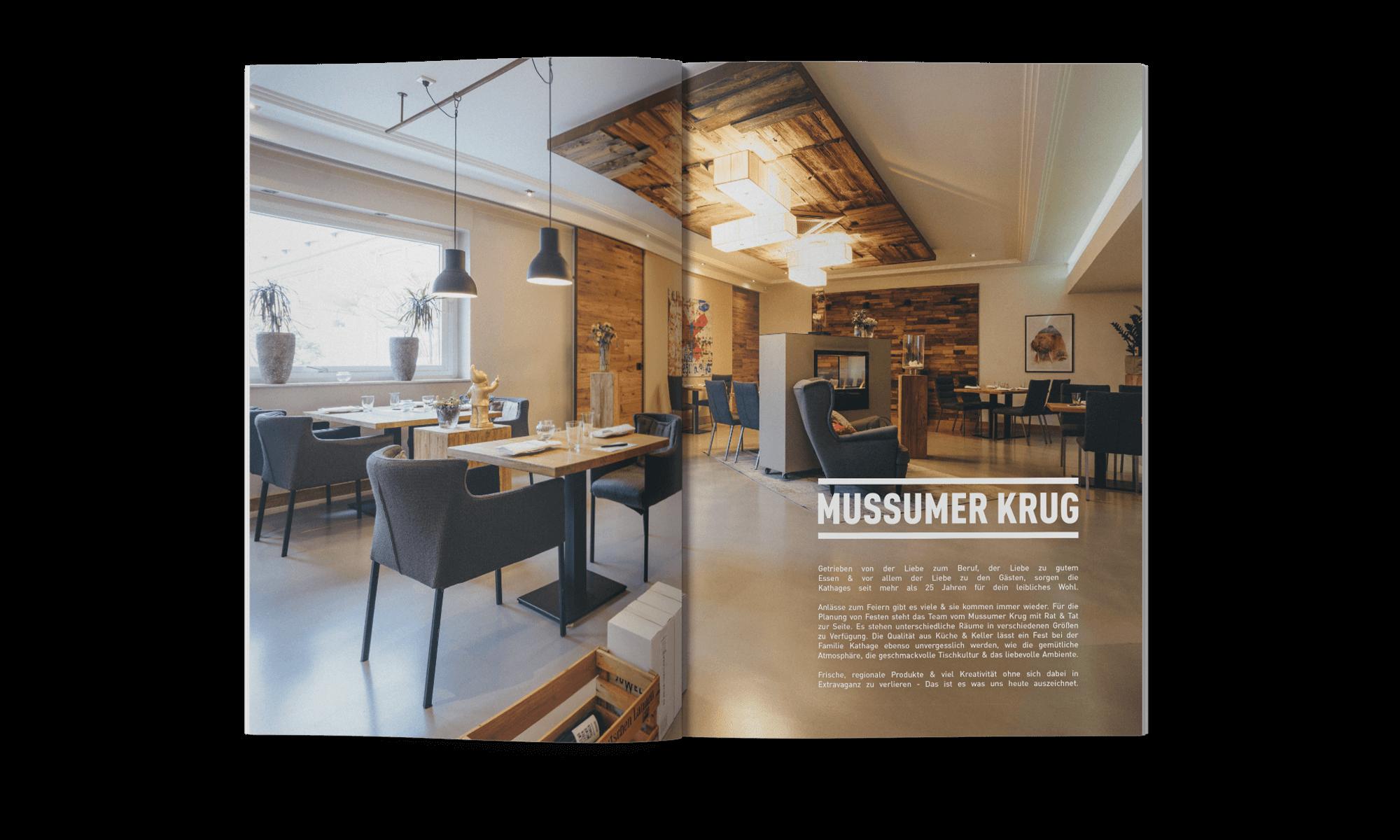 Schau und Horch Magazin MussumerKrug - Branding