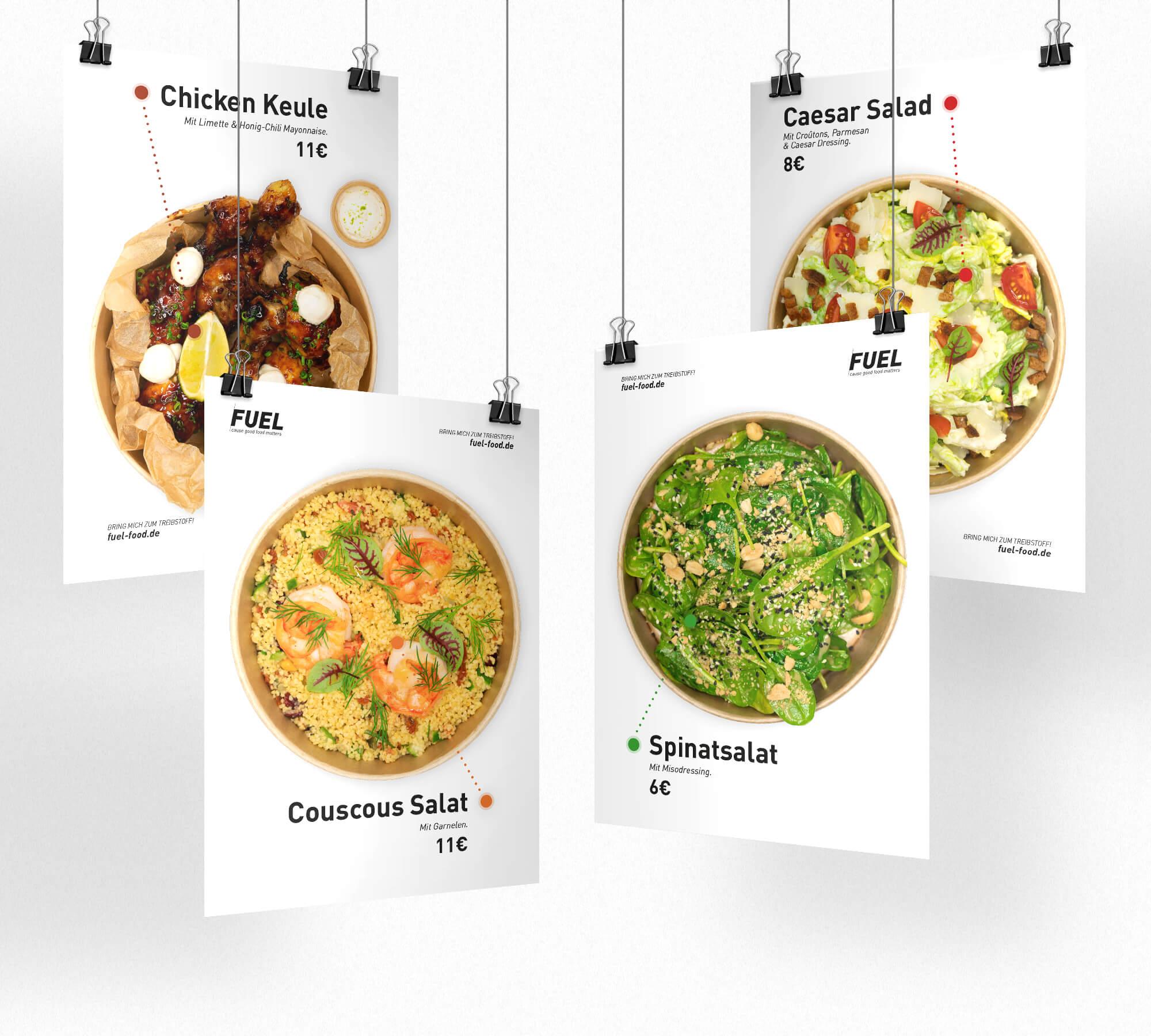 Schau und Horch Plakat Fuel 4 - corporate identity