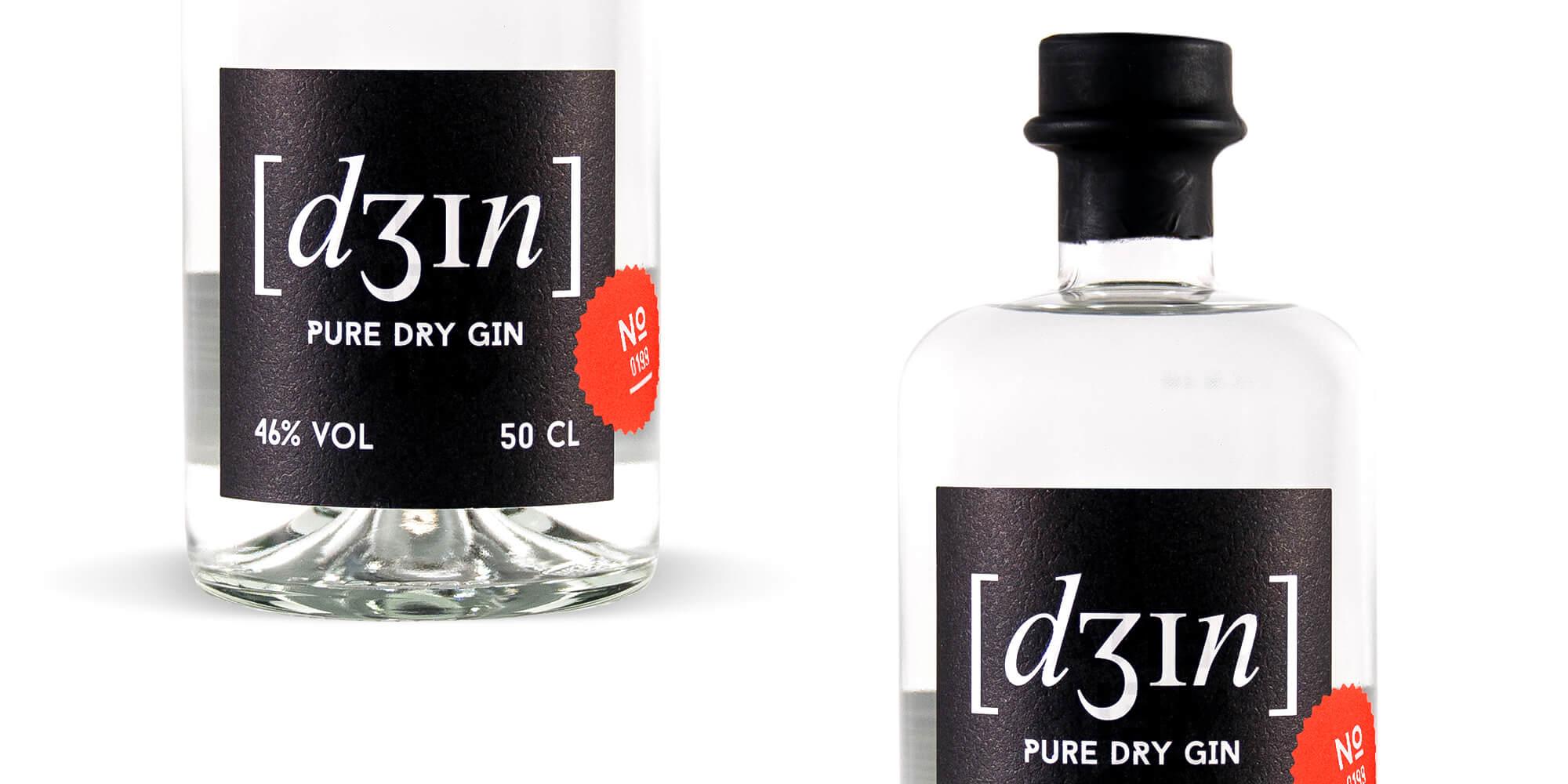 Schau und Horch Produktfotografie Dein Gin 4 - Corporate Identity für [dʒɪn]