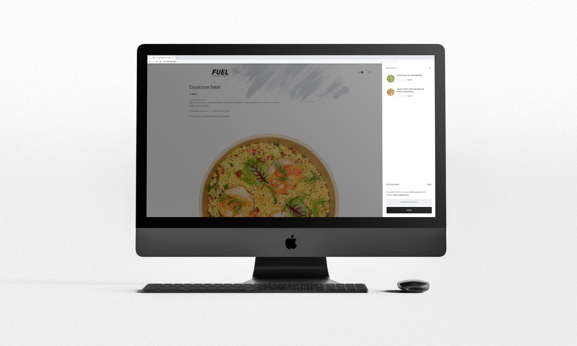 Schau und Horch Website Fuel - corporate identity